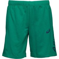 Asics Mens GPX Knit 9 Inch Training Shorts Jungle Green