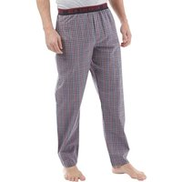 Ben Sherman Mens Darren Woven Lounge Pants Red/Navy House Gingham