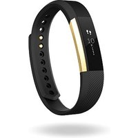 Fitbit Alta Special Edition - Black/ 22k Gold Plated (Large)