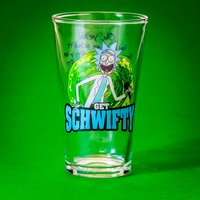 Rick and Morty Get Schwifty Pint Glass