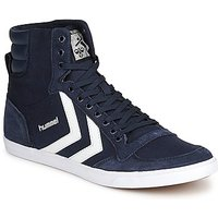 Hummel  SLIMMER STADIL HIGH  men's Shoes (High-top Trainers) in Blue