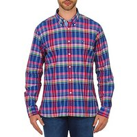 Tommy Hilfiger  HECTOR  men's Long sleeved Shirt in Multicolour