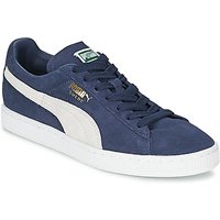 Puma  SUEDE CLASSIC  men's Shoes (Trainers) in Blue