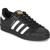 adidas  SUPERSTAR FOUNDATION  men's Shoes (Trainers) in Black