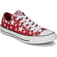 Converse  Chuck Taylor All Star MULTI STAR PRINT OX  men's Shoes (Trainers) in Red