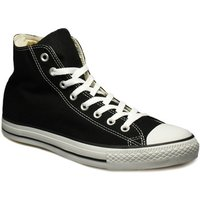 Converse  Mens Womens Black All Star Hi Trainers  men's Shoes (High-top Trainers) in Black