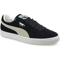 Puma  Mens CL Eco Black White Suede Trainers  men's Shoes (Trainers) in Multicolour