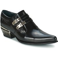 New Rock  PERADA  men's Casual Shoes in Black