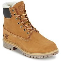 Timberland  6 IN PREMIUM FUR/WARM LINED BOOT  men's Mid Boots in Beige
