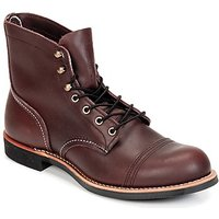 Red Wing  IRON RANGER  men's Mid Boots in Red