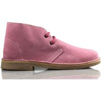 Arantxa  AR pisacacas safari leather boot  men's Shoes (High-top Trainers) in Pink