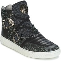 New Rock  JAFFAGO  men's Shoes (High-top Trainers) in Black