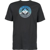 Columbia  CSC TRIED AND TRUE  men's T shirt in Black