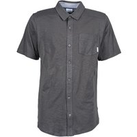 Columbia  LOOKOUT POINT  men's Short sleeved Shirt in Grey