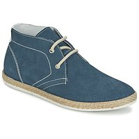 Casual Attitude  HUPPE  men's Shoes (High-top Trainers) in Blue