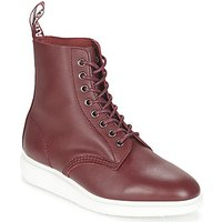 Dr Martens  WHITON  men's Mid Boots in Red