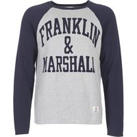 Franklin   Marshall  HOUI  men's Sweater in Grey