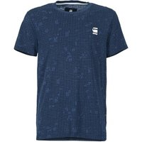 G-Star Raw  GAVOD  men's T shirt in Blue