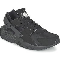 Nike  AIR HUARACHE RUN  men's Shoes (Trainers) in Black