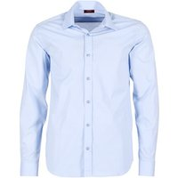 BOTD  FREDDA  men's Long sleeved Shirt in Blue