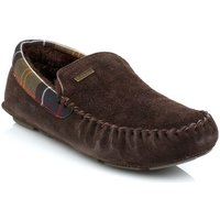 Barbour  Mens Brown Monty Slippers  men's Boat Shoes in Brown