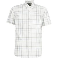Quiksilver  EVERYDAYCHECKSS  men's Short sleeved Shirt in White