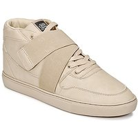 Sixth June  NATION STRAP  men's Shoes (High-top Trainers) in Beige