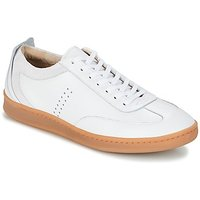M. Moustache  ROGER  men's Shoes (Trainers) in White