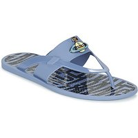 Vivienne Westwood  ORB ENAMELLED SDL  men's Flip flops / Sandals (Shoes) in Blue