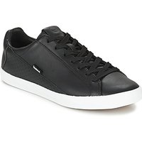 Hummel  CROSS COURT LEATER  men's Shoes (Trainers) in Black