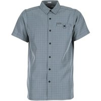 Columbia  DECLINATION TRAIL II  men's Short sleeved Shirt in Blue