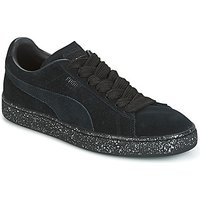 Puma  SUEDE CLASSIC + SPECKLE  men's Shoes (Trainers) in Black