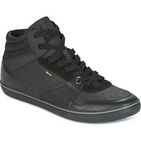 Geox  U BOX  men's Shoes (High-top Trainers) in Black