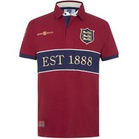 Ellis Rugby  British Isles Vintage Polo Shirt  men's Polo shirt in Red