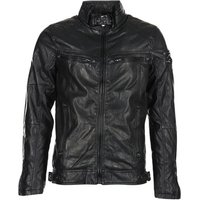 Deeluxe  SPANGLE  men's Leather jacket in Black