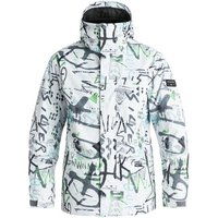 Quiksilver  Mission Printed - Chaqueta Para Nieve  men's Jacket in White