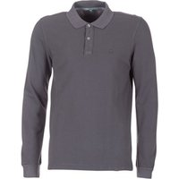 Benetton  MAGES  men's Polo shirt in Grey