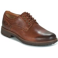 Clarks  MONTECUTE WHOLE  men's Casual Shoes in Brown