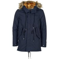 Schott  M517X  men's Parka in Blue