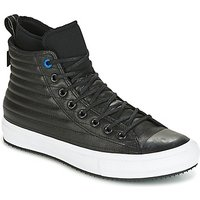 Converse  CHUCK TAYLOR WP BOOT QUILTED LEATHER HI BLACK/BLUE JAY/WHITE  men's Shoes (High-top Traine