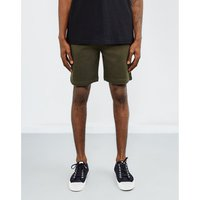 The Idle Man  Sweat Shorts Green  men's Shorts in Green
