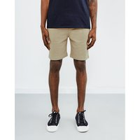 The Idle Man  Sweat Shorts Stone  men's Shorts in Other