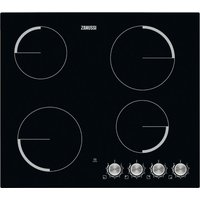 ZANUSSI ZV694NK Electric Ceramic Hob - Black, Black