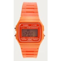 Casio Classic Orange Digital Watch, Orange
