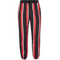 Mens Multi GRANTED Red, Black And White Stripe Joggers*, Multi