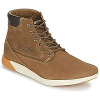 Redskins  CORIA  men's Shoes (High-top Trainers) in Brown