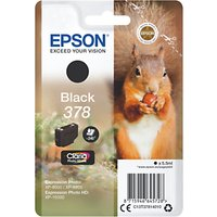 Epson Squirrel T3781 Inkjet Printer Cartridge, Black