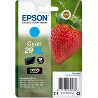EPSON 29XL Strawberry Cyan Ink Cartridge, Cyan