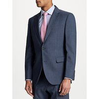 Chester by Chester Barrie Prince of Wales Check Suit Jacket, Blue