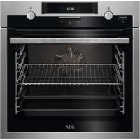 AEG SteamBake BCS551020M Electric Oven - Stainless Steel, Stainless Steel
